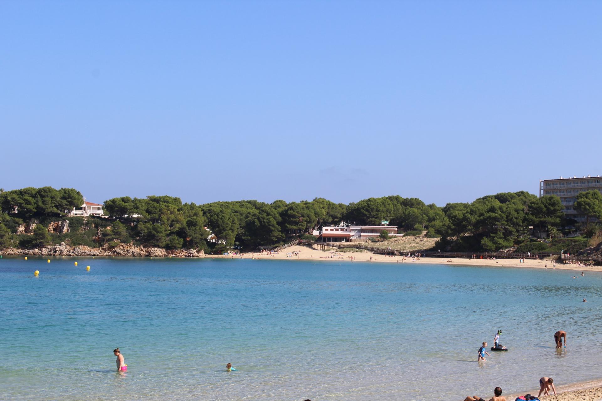 Strand von Arenal den Castell